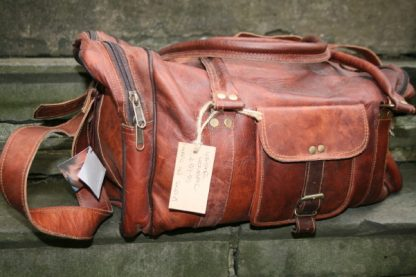 Fair Trade Holdall with Zip Side Pockets