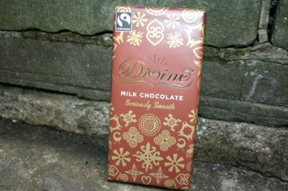 Divine Fair Trade milk chocolate
